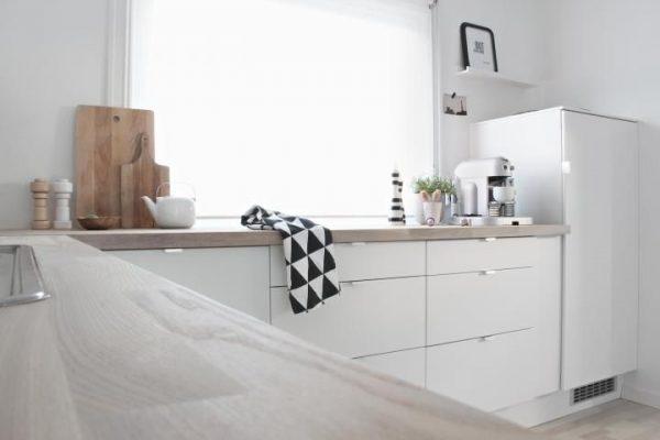 Ikea keukens thestylebox - Witte keuken en hout ...