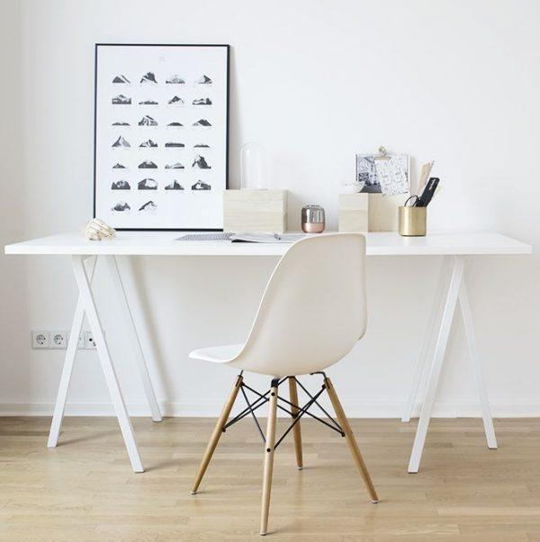 Vitra stoelen thestylebox for Witte eames stoel