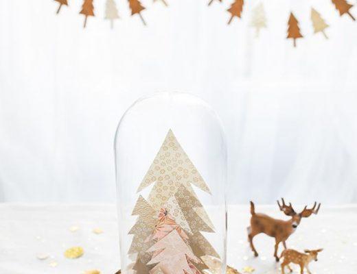 witte kerst in huis