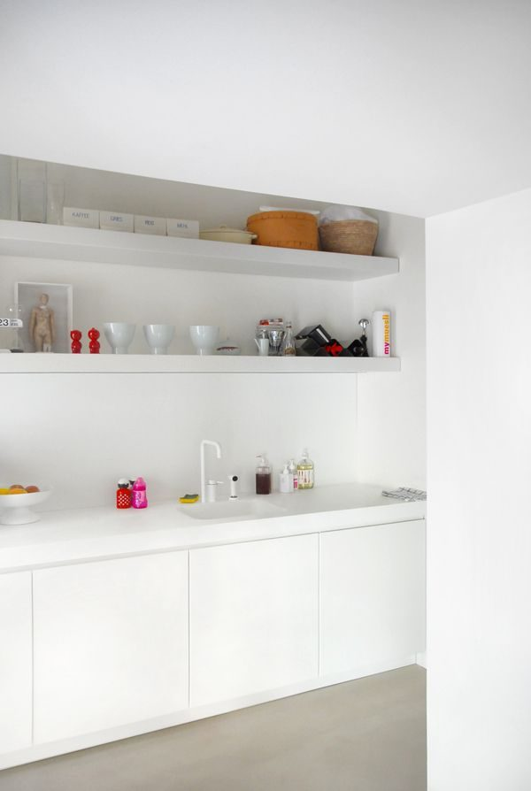 witte kraan keuken