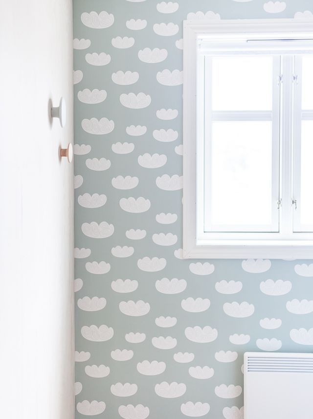 Behang Kinderkamer Scandinavisch : Kinderkamer behang thestylebox