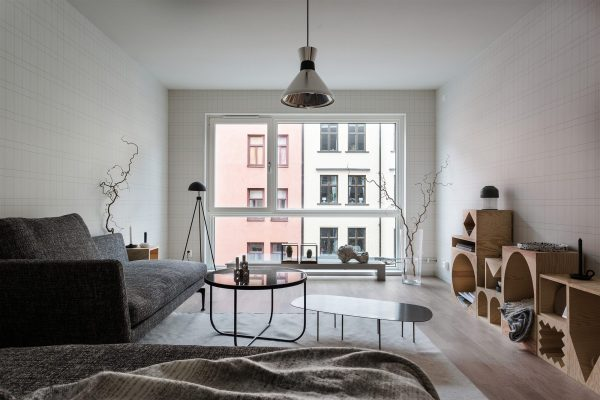 Scandinavisch appartement in de stad thestylebox