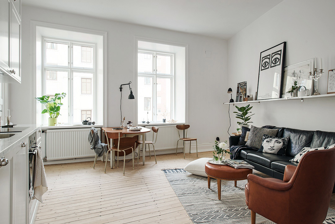 Woonkamer Inrichting Appartement
