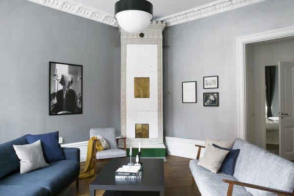 diagonale indeling interieur