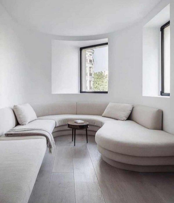 woonkamer ideeën minimalistische bank