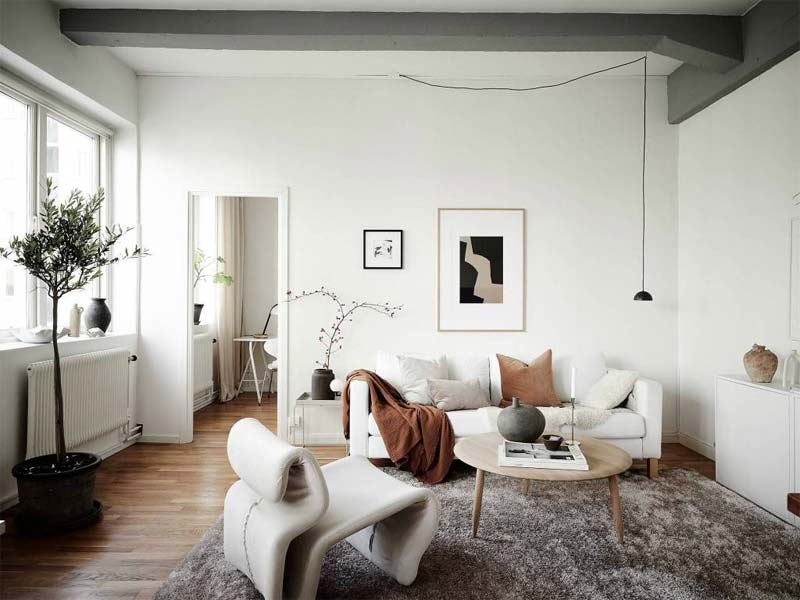 woonkamer knus warm maken meubels indeling