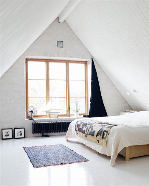 zolder slaapkamer vloerkleed