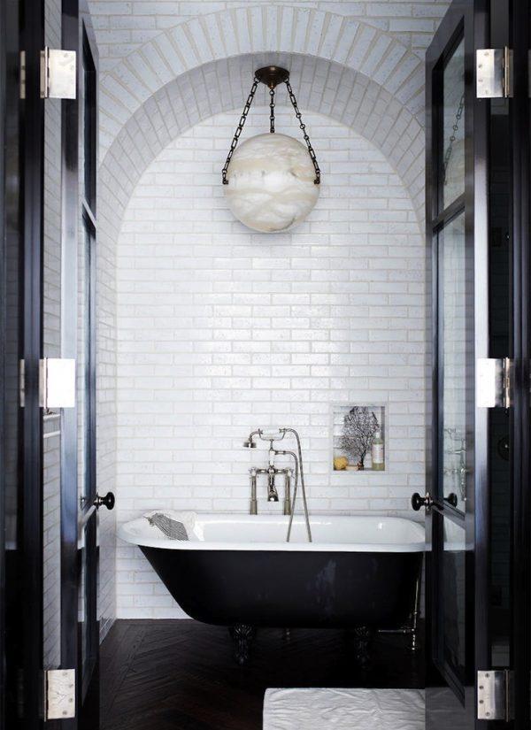 Extreem Zwart wit badkamer - THESTYLEBOX @TB61