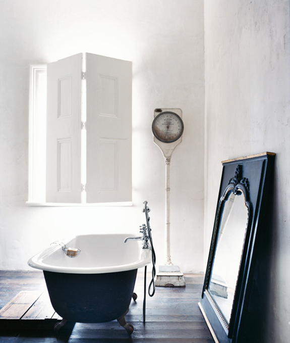 Zwart wit badkamer - THESTYLEBOX