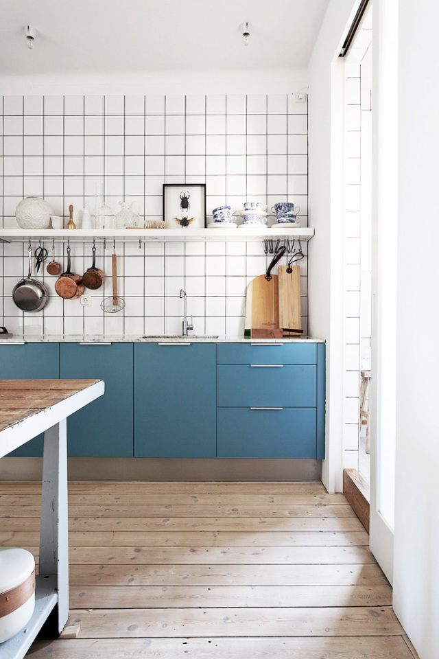 Tegel Behang Keuken : Zwart Wit Behang Keuken : keuken hout + zwart + wit ? is creative