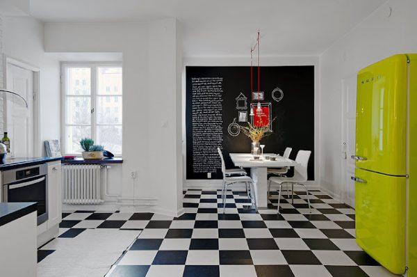 Welp Zwart wit vloer keuken - THESTYLEBOX WN-27