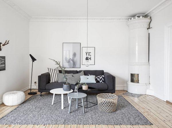 Wonen In Wit : Zwart wit wonen thestylebox
