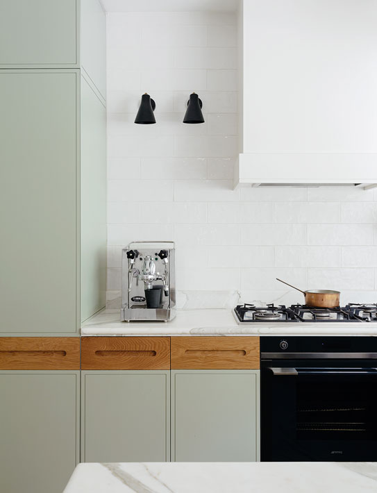 zwarte lampjes keuken