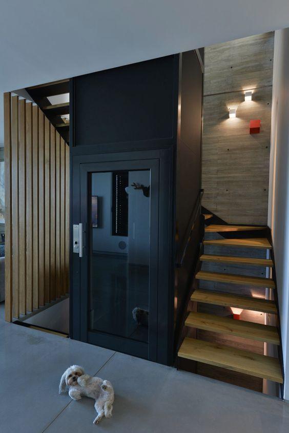 zwarte lift