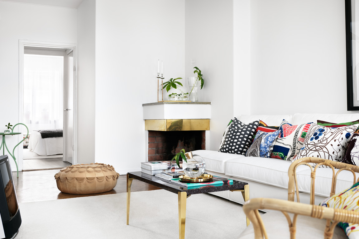 Zweeds appartement thestylebox for Zweeds interieur woonkamer